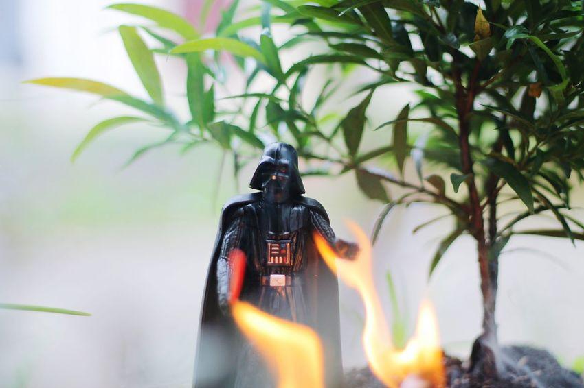 Star Wars Day Darth Vader Star Wars Blurred Motion Burning Flame