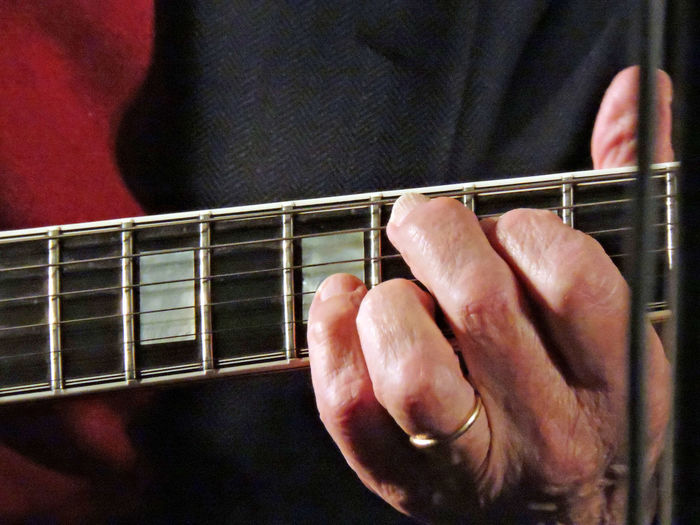Chord Guitar Guitarist Jazz Jazz Concert Music Part Of Selective Focus