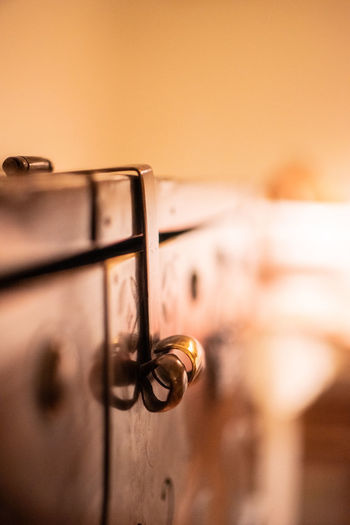 Close-up No People Metal Old Selective Focus Wood - Material Focus On Foreground Indoors  Door Entrance Handle Knob Safety Retro Styled Architecture Doorknob Lock Latch