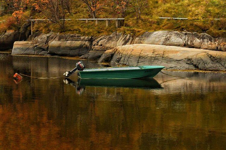 River Reflection Canadian Autumn Autumn Colors
