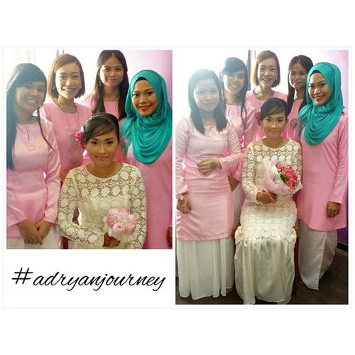 Pink affair. Sister, Maid of Honor and Bridemaids. Adryanjourney Babygirls