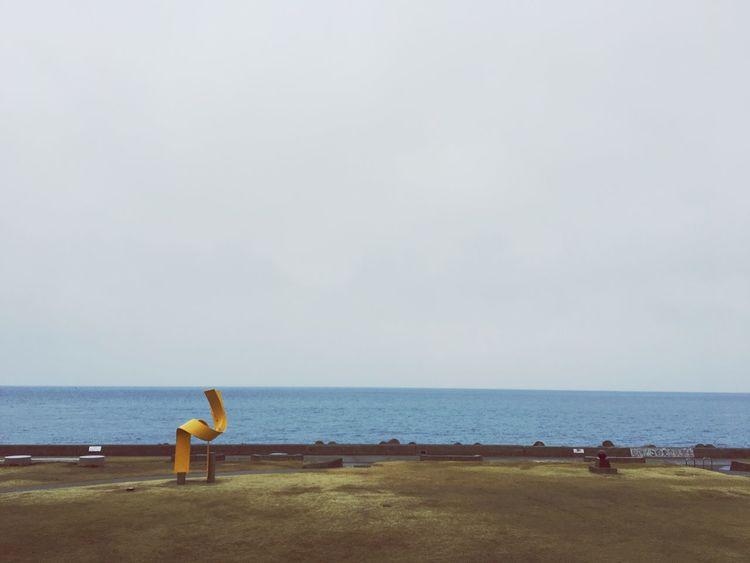 Sea 日本海 曇り