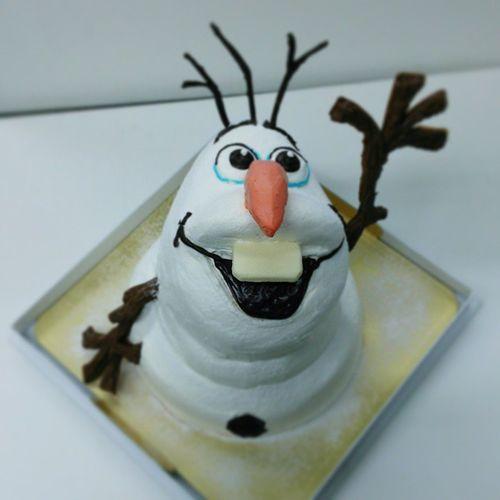 オラフ ケーキ アナ雪 ディズニー Olaf Frozen Cake Disney