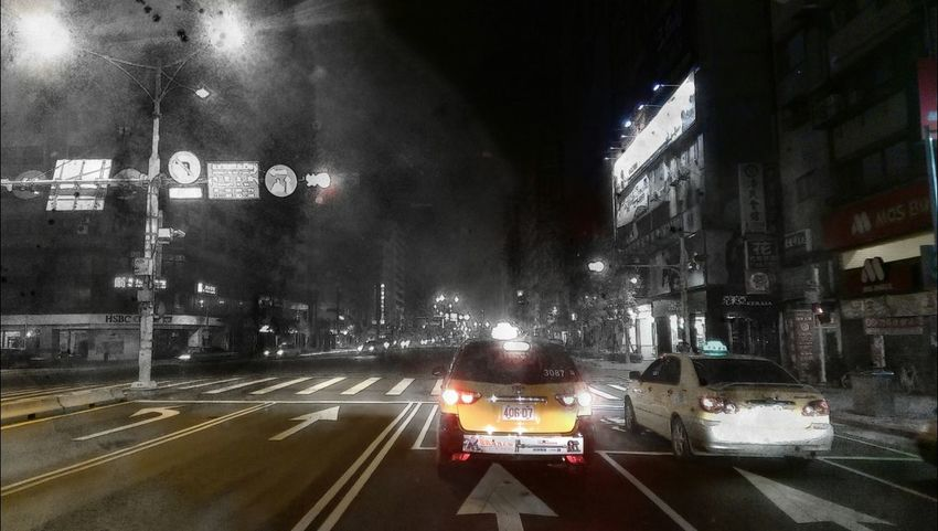 On my way home On My Way Home City Car City Street What You See? Is Coming Soon Htc One M8 Enjoying Life Life Long Life Citylights Eyeam Street Street Photography Moment Of Silence EyeEm Eyeam_bestshot Cities At Night Somewhere I Remember