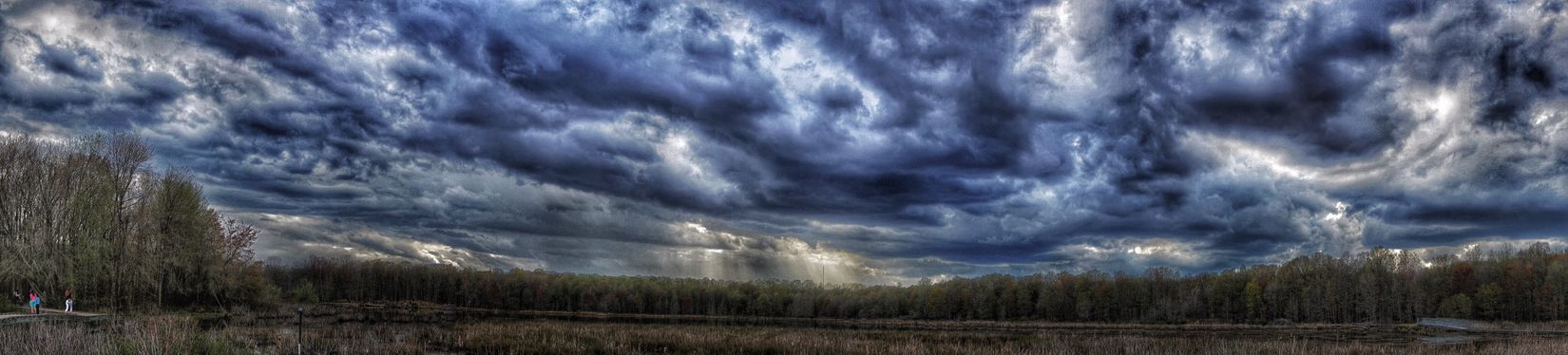 Pano: From sunny morning to stormy skies. Panorama Storm Clouds Water Reflections EyeEm Nature Lover Sony A6000 Enjoying Life