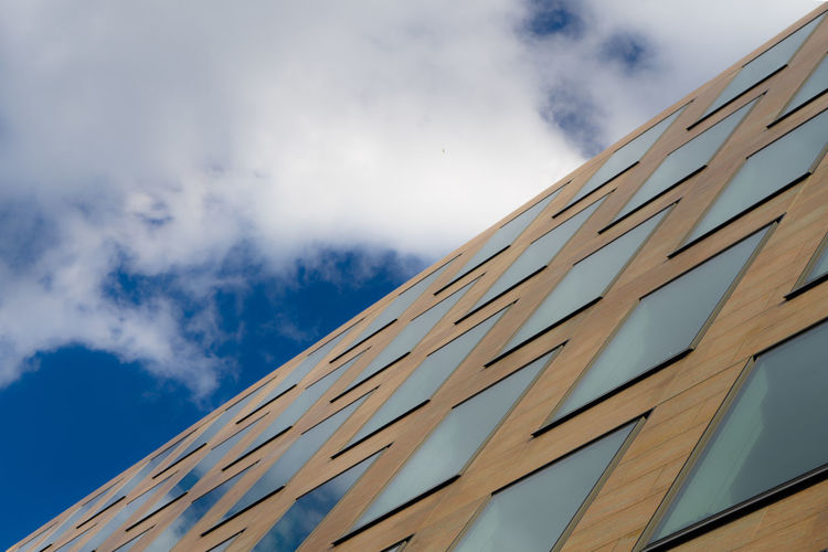 Angle Architecture Blue Sky Blue Wave Building Exterior Cross Fine Art Photography High Section London LONDON❤ Low Angle View No People Office Building On The Way Perspective Photooftheday Reflection Reflections Sky SONY A7ii Turkishfollowers Showcase July Pivotal Ideas EyeEm LOST IN London