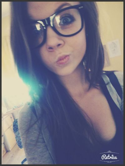 I'm not normal! Normal People Scare Me Kiss ✌ Glasses Model !!! ;*