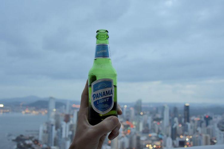 Beer Cityscape Lifestyles Panama City Panamá Sky Sunset Travel Destinations