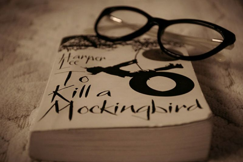 Books ♥ To Kill A Mocking Bird Literature Eyeglasses  Bookphotography BookLove Englishliterature
