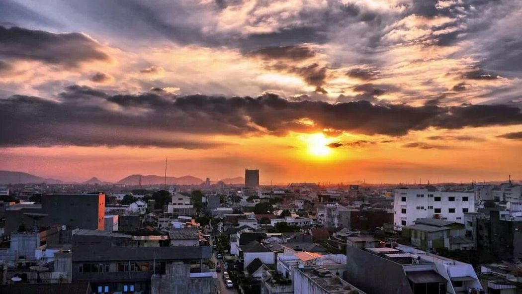 Urban Sunset_collection City Scape Bandung