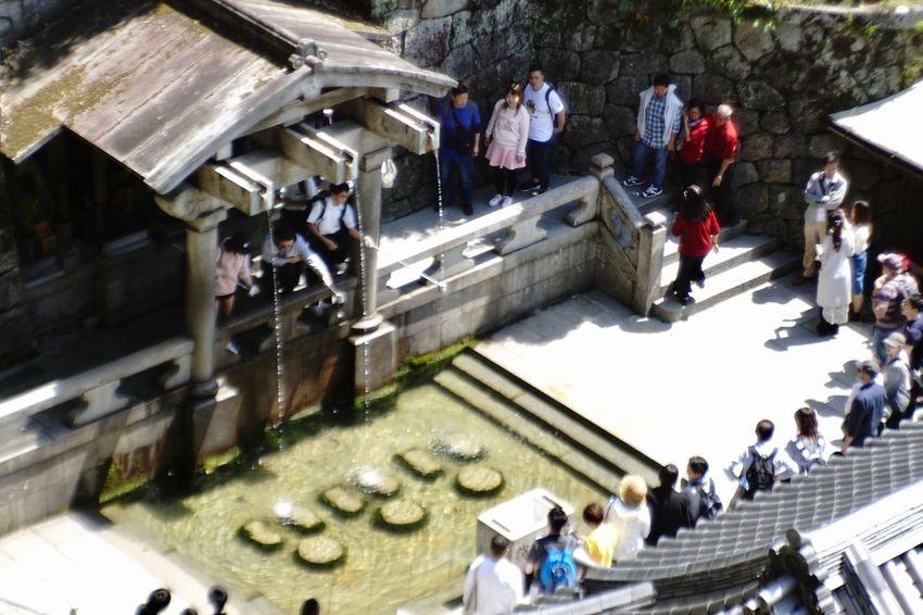 Jupiter9 Vintage Lens 音羽の滝 清水寺 京都 Kiyomizu-dera Kyoto Temple EyeEm Best Shots EyeEmNewHere EyeEmBestPics Japan Group Of People Large Group Of People Real People Crowd High Angle View Architecture Lifestyles
