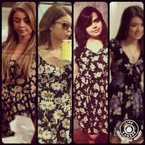 Modern Family Dress Sarah Hyland,you Look So Pretty Love The Dress! :)