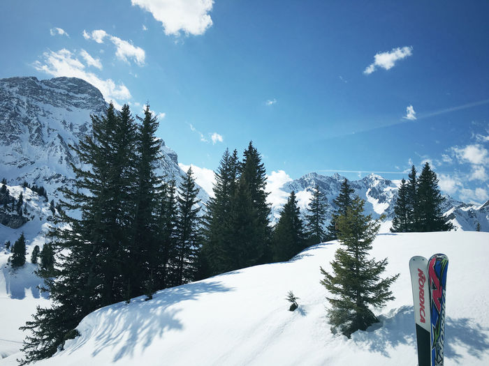 Beauty In Nature Landscape Mountain No People Outdoors Ski Holiday Snow Tree Warth Winter