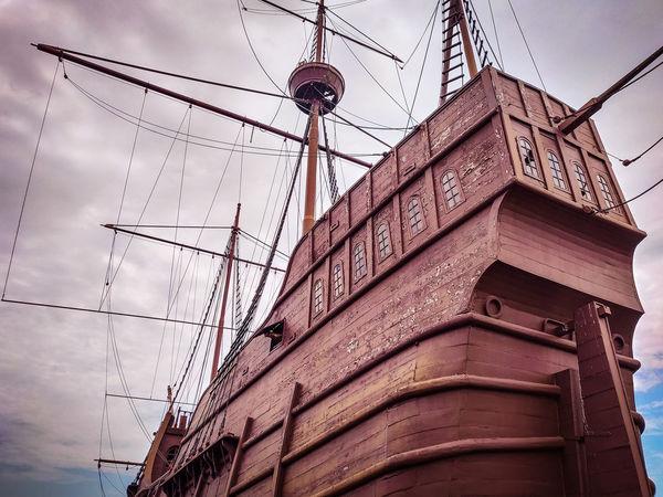 Muzium Samudera Ship Jack Sparrow Museum Ships⚓️⛵️🚢 Shipyard Building Tower Tall - High Container Ship Passenger Ship Tall Ship Shipwreck Tall Harbor