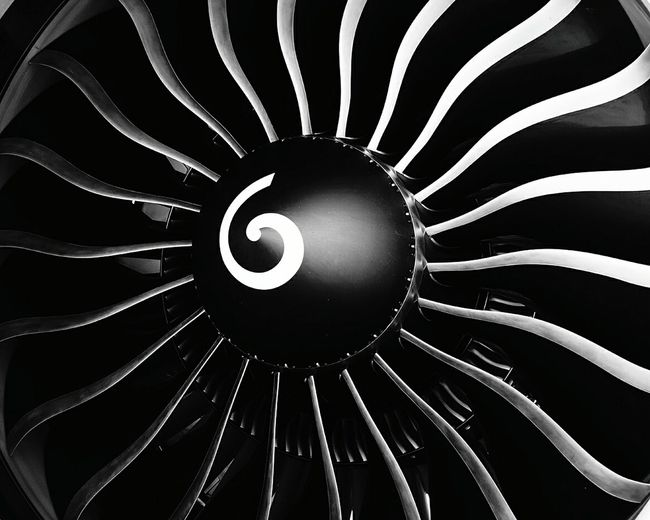 Boeing 777 Engine Turbine Ge90 London Heathrow Nopeople Light And Shadow Shadow Welcome To Black