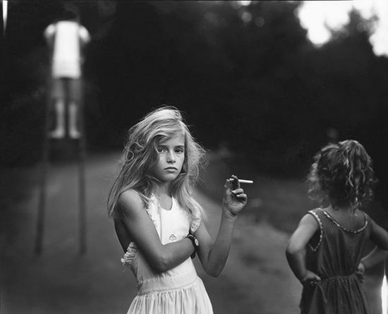 Candy Cigarette, Sally Mann Photography Vintage Grunge