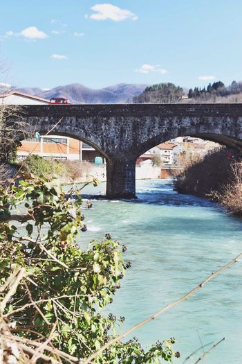 journey onward. Architecture Cityscape Creativity Explore Garfagnana Hills Italy Journey Landscape Mood Moody Mountain Mountains Nature Photography Photooftheday River Spring Springtime Travel Travel Destinations Tuscany Tuscany Countryside View Viewpoint