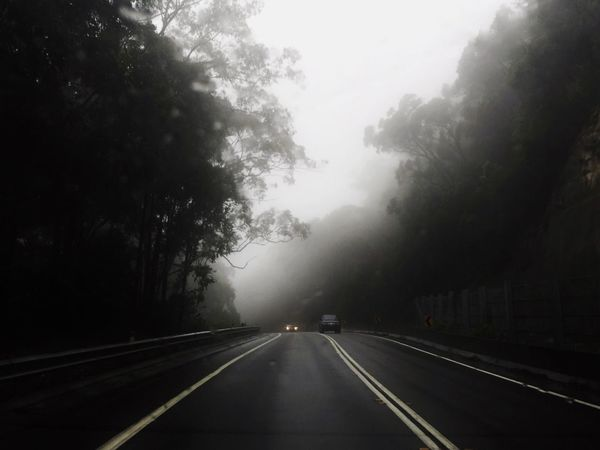 Road Trip Weather Foggy Storm Trip Road Roadtrip Passenger Seat Gloomy Cold Cold Temperature Cool Low Saturation Road Trip Mobilephotography Taking Photos The Great Outdoors - 2016 EyeEm Awards EyeEm Gallery EyeEm Best Shots