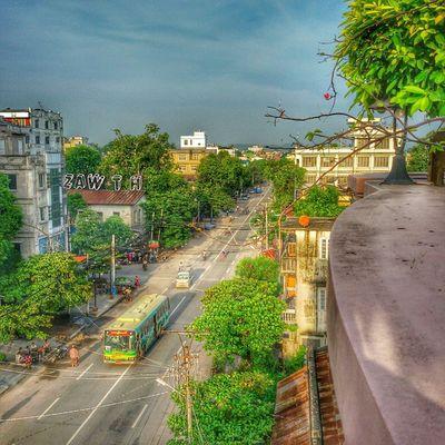 Morning igers HDR Snapseed GalaxyGrand2 22road Mandalay Myanmar Myanmarphotos Igersmyanmar Igersmandalay Burmeseigers Vscomyanmar Zawth