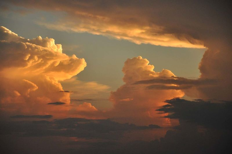View of cloudscape during sunset