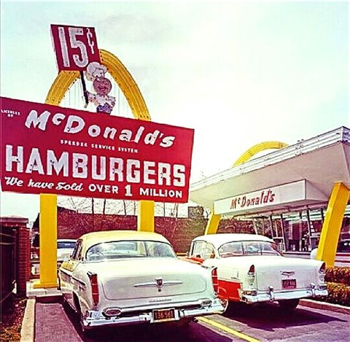 Poster Mc Donald's Macca's Check This Out Old Poster Signs The Golden Arches Golden Arches At McDonald's I'm Lovin' It Macdonalds Mcdonalds I'm Lovin' It ® McDonald's Oldposter Postercollection Poster Collection Oldposters Posterporn Posters Maccas Old But Awesome Advertisement Posters Sign Advertisingposters