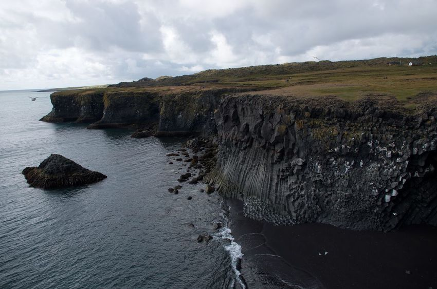 Cliff Iceland Nature Rock Formation