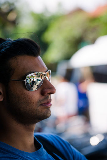 Side Profile Bali, Indonesia Casual Clothing Close-up Headshot Human Face Lifestyles Outdoors Portrait Selective Focus Side Profile Sunglasses Ubud Finding New Frontiers