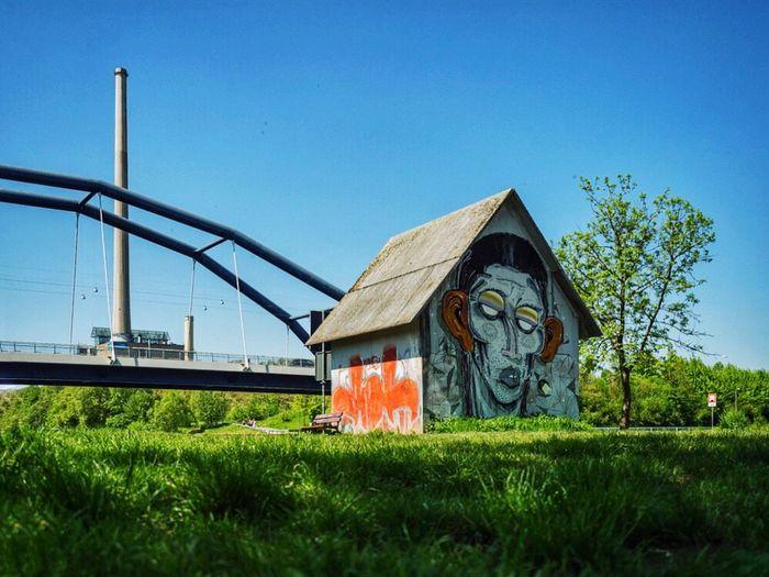 Saarland Saarbrucken Römerbrücke Kraftwerk Graffiti Graffiti Art Graffitiporn Nature Nature_collection Nature On Your Doorstep Art