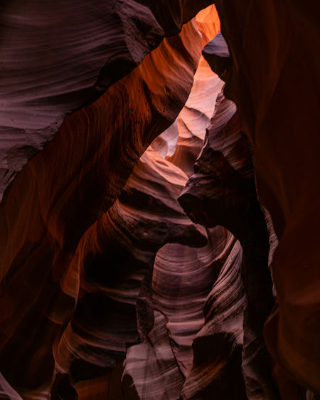 Inside the magical antelope canyon