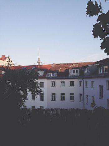 Sunset Berlin Summertime TV Tower