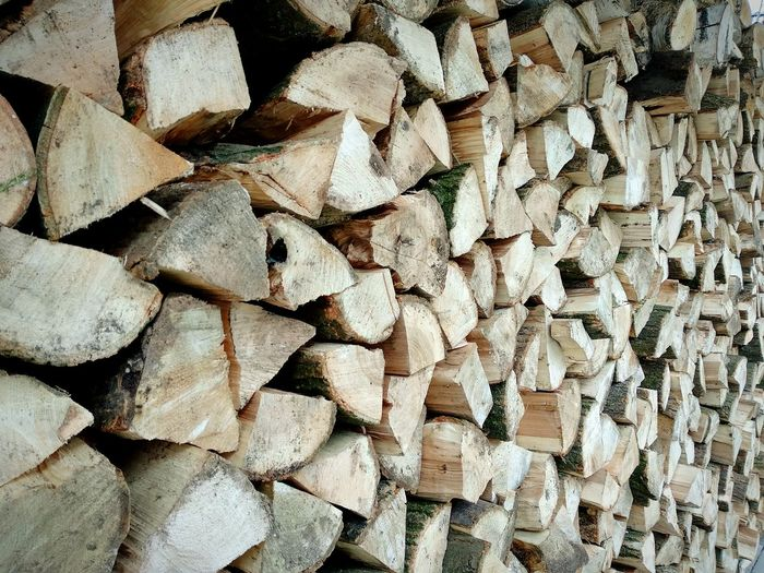 wood logs for