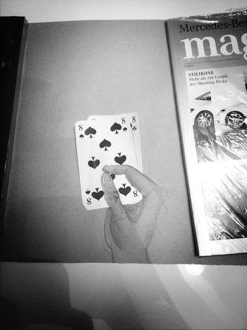 Blackandwhite Art Da Vinci Poker