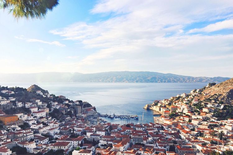 Beautiful view from hydra