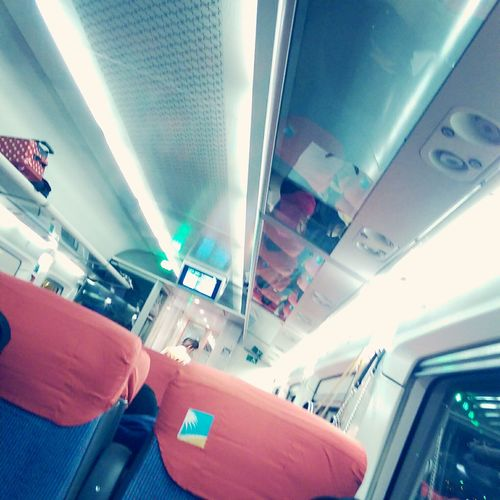 In the Train ?? Check This Out Hello World Hi! Train