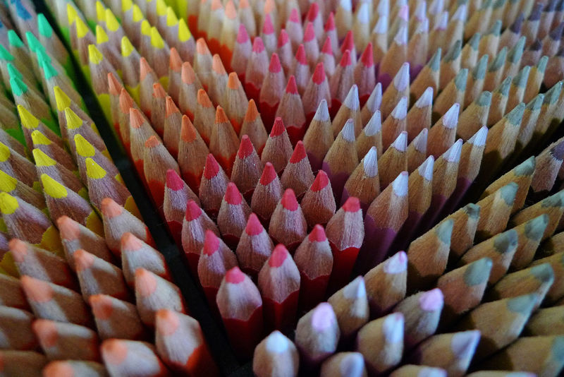 Colours EyeEmNewHere Lapis Pencils Close-up Cores Indoors  Multi Colored Selective Focus