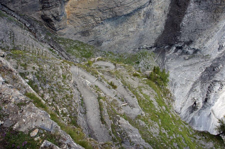 Gemmiweg - Leukerbad - Wallis - Schweiz Adventure Beauty In Nature Cliff Gemmi Gemmiwand Gemmiweg Hiking Hiking Adventures Hiking Trail Leukerbad Majestic Majestic Nature Mountain Mountains Nature Outdoors Path Rocks Schweiz Swiss Alps Switzerland The Way Forward Wallis Way