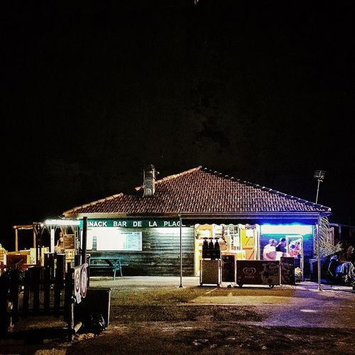 IPhoneography Night Photography Beach Bar Terrace