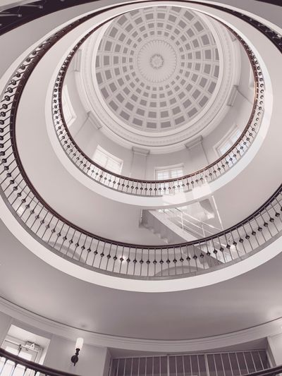 🇩🇰🌀 EyeEm Best Shots - Black + White Staircase White Background White Blackandwhite White Color Lookingup Architecture_collection Window EyeEm Selects Reflection Architectural Design Modern Architecture Architectural Detail Architecture Architectureporn EyeEmBestPics WeekOnEyeEm EyeEm Best Shots Stairs Arch Staircase The Week on EyeEm Editor's Picks Built Structure Architecture Pattern Design Spiral Circle Geometric Shape