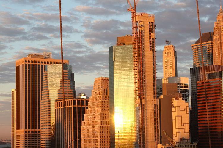 Dawn Manhattan