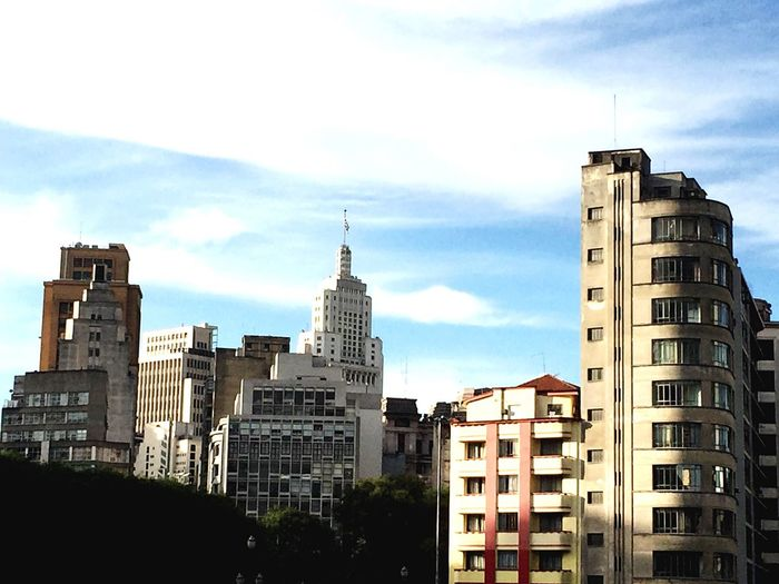 Buildings SP Building City Landscape Downtown Brazil Brasil Blue Sky