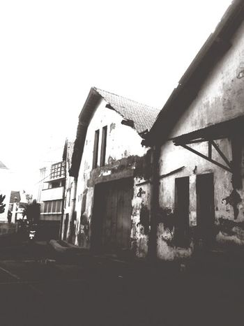 Blackandwhite Photography Black & White Black And White Semarang Old Buildings Exploring New Ground IPhoneography Iphonesia Traveling