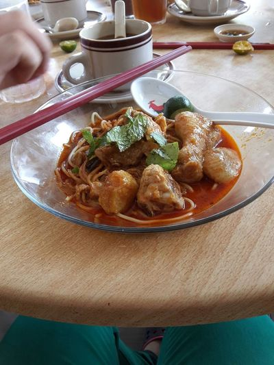 The Foodie - 2015 EyeEm Awards Local Curry Mee I Just Want To Survive Food Stories