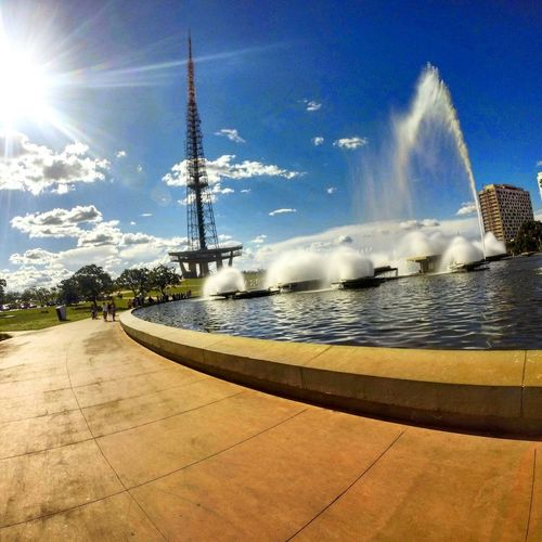 Brasília Torre De TV - Brasília Gopro Sky