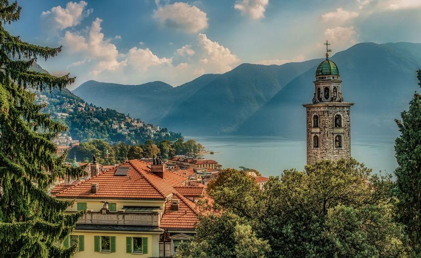 Vista of Lugano