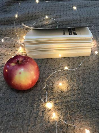 Book Illuminated Lighting Equipment Christmas Light Bulb Christmas Decoration Christmas Lights Fruit
