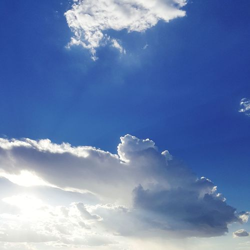 Cloud - Sky Sky No People Outdoors Elpasosunset Day City
