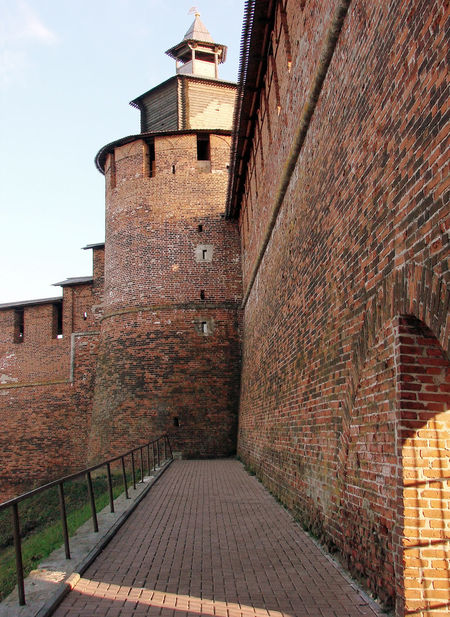 Architecture Brick Wall Building Exterior Built Structure Kremlin Architecture Russia No People Outdoors Sun Ray