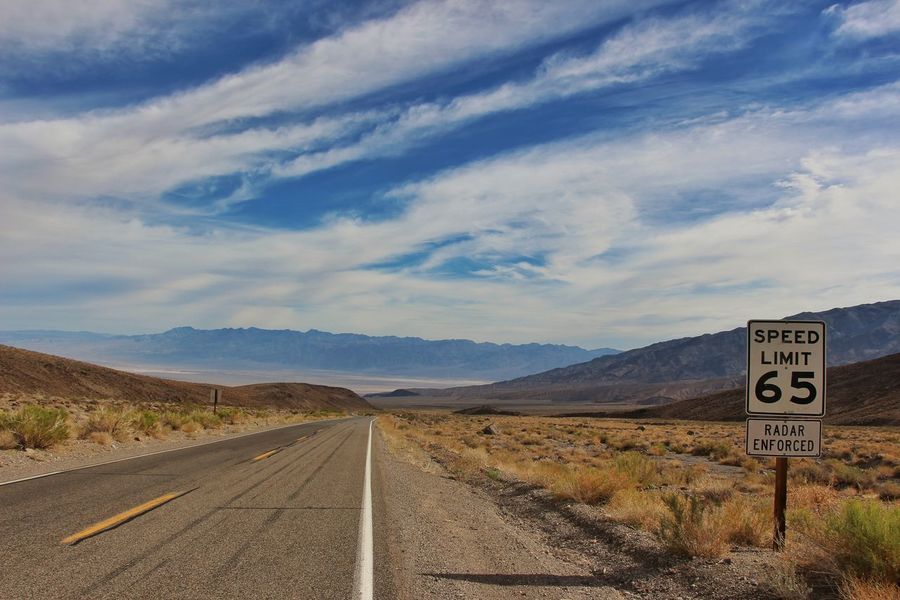 USAtrip USA Photos Nevada Desert Death Valley Travel Photography EyeEm Best Shots Bestoftheday Eyeemoninstagram Desert Road Sky And Clouds The Great Outdoors - 2016 EyeEm Awards The Drive