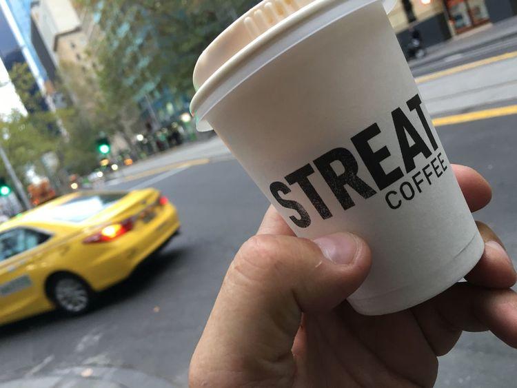 Coffee Caffeine Melbourne Morningcoffee Taxi Cab Monday Coffecup
