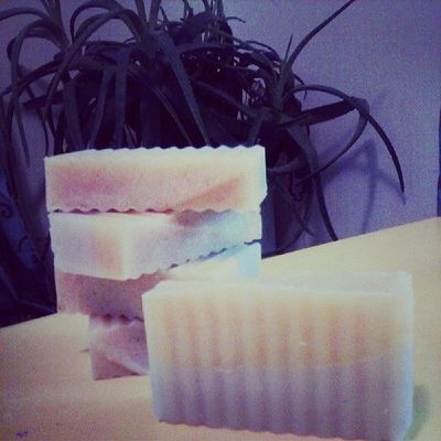 Happy Tree here introducing Patchouli Orange two tone soap! Will be ready for fall.